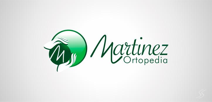 logotipo para martinez ortopedia